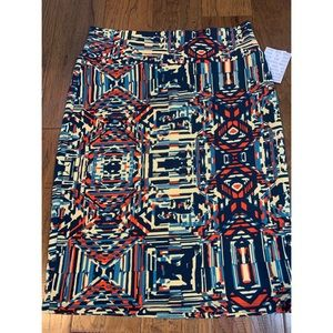LuLaRoe Cassie Pencil Skirt Size Large NWT